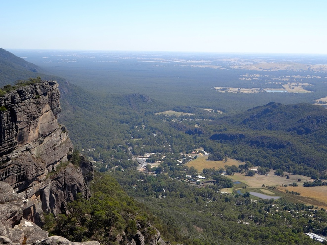 pinnacle, grampians, victoria, australia, travel, tourism, hiking, national park