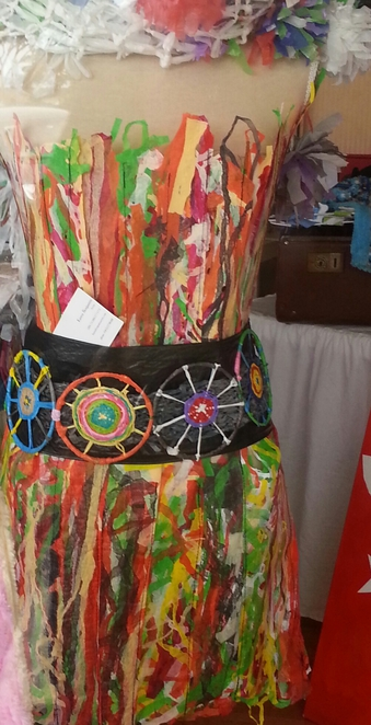 Recycling, craft, dresses, shopping, courses