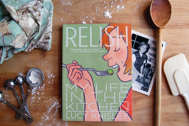 relish lucy knisley, lucy knisley books, graphic novels, foodie books, great food novels, food graphic novels, memoirs, graphic novel memoirs, lucy knisley graphic novels