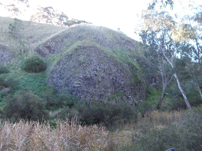 rosette organ pipes national park melbourne stone