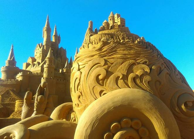 Sand Sculpting Australia in 2016