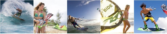 SUP, Kiteboarding, Windsurfing (Taken from official website)