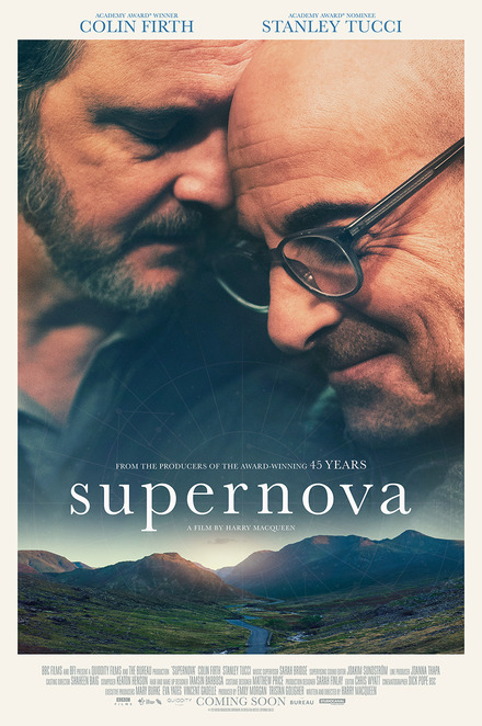 SUPERNOVA, Harry Macqueen, Colin Firth, Stanley Tucci, Gay Cinema, Queer Cinema, Gay Film, Queer Film, Gay Movie, Queer Movie, Early Onset Dementia, Dementia, Piano, Pianist, Writer, Cinema, Sad Movie, Sad Film, English Movie, English Film, English Cinema, English Countryside, Dog, Truffles, Truffles The Dog, Ruby The Dog, Ruby, Sam, Tusker