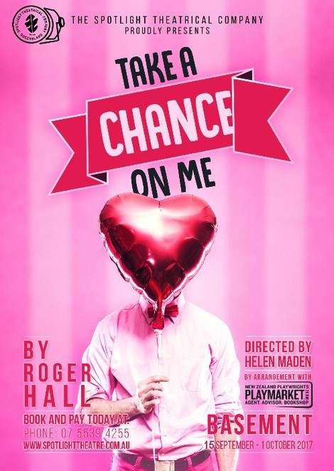 take a chance on me, spotlight theatre, helen maden, roger hall, love, dating, divorce, seeking love