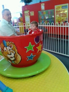The cup and saucer ride