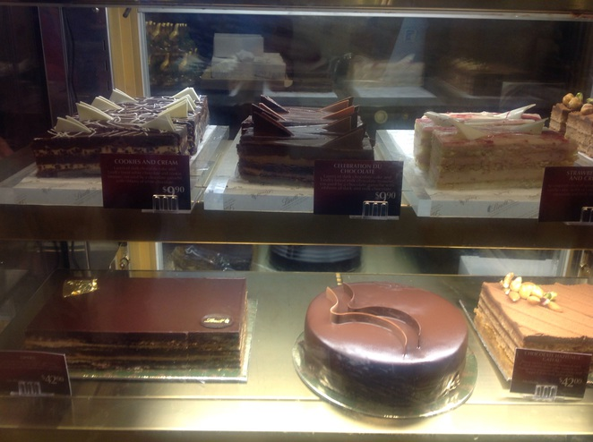 The Lindt Cafe Desserts Chocolate