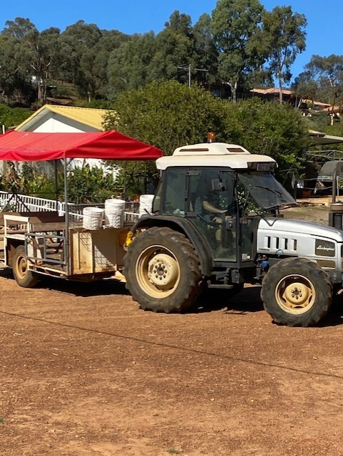 The Orchard Perth Tractor Rides and Fruit Picking Tours