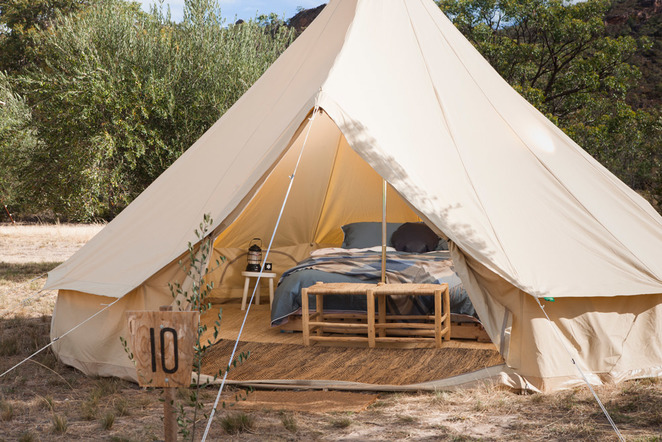 Under Sky glamping Parks Victoria Mount Buffalo National Park