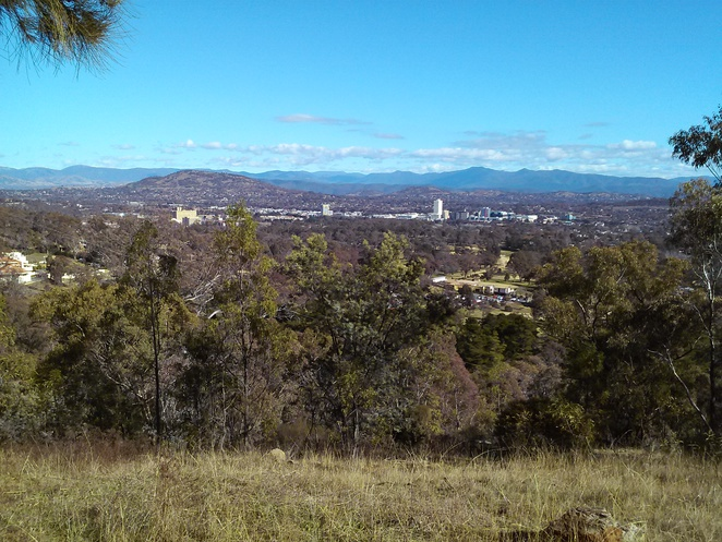 views of woden, Canberra, Red Hill Lookout