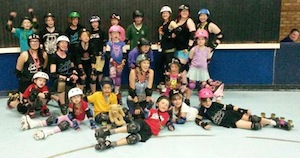Westside Derby Dollz, Derby, derby kids, junior derby