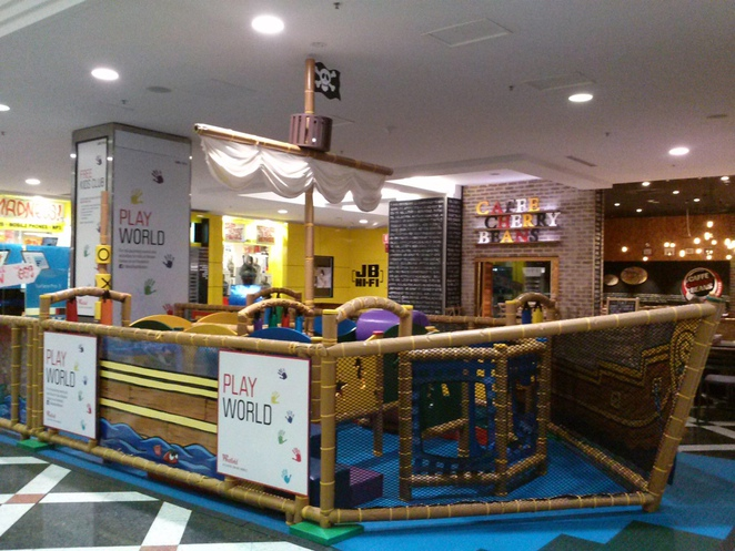 Woden Westfield Pirate Ship Childrens playground
