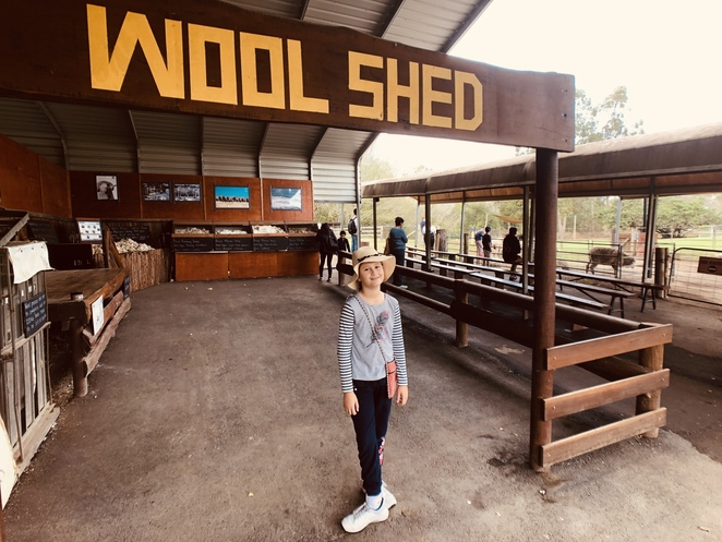 Woolshed at Lone Pine