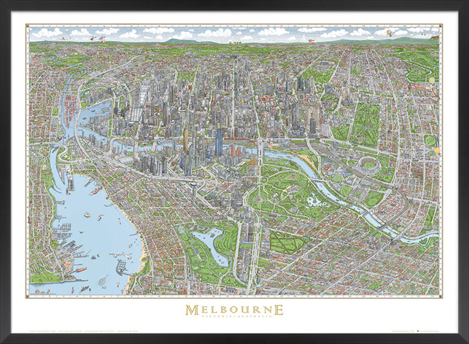 Clementine gift shop Christmas shoppingThe Melbourne Map