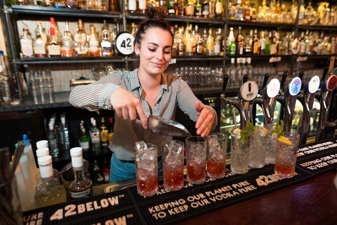 42 below waste-free weekender 2019, community event, fun things to do, keeping our plant pure, maybe mae, struthless, acre eatery, 42 below cocktails, paint and piss (take), wasteless brunch, blind dining, date night, night life, bar
