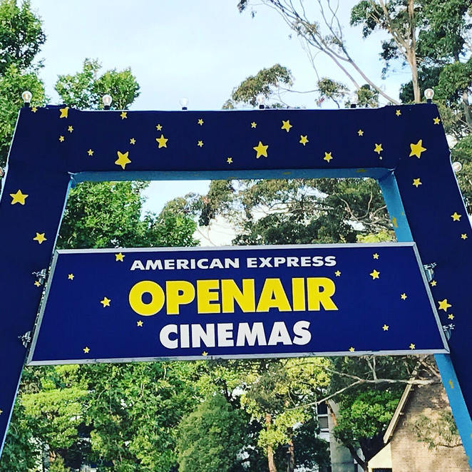 American Express Open Air Cinema