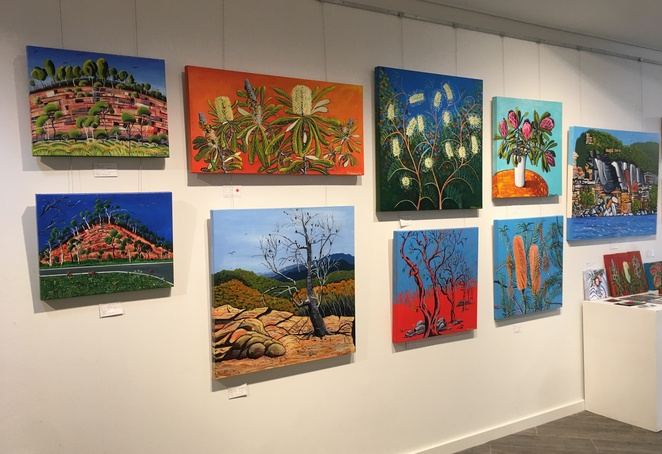 Anything Goes exhibition, Gosford Regional Gallery