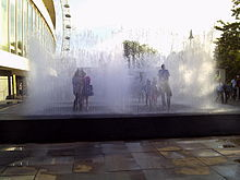 Appearing Rooms Interactive Fountain