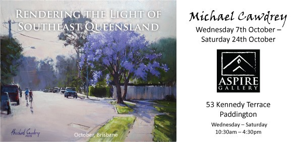 Aspire Gallery; Michael Cawdrey, Rendering the Light of Southeast Queensland