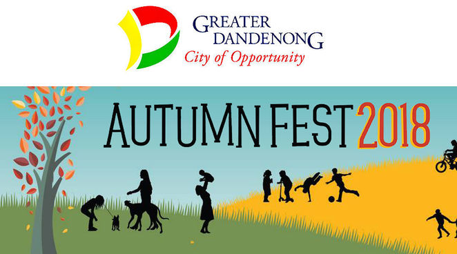 autumn fest 2018, city of greater dandenong, frederick wachter reserve, keysborough, fun activities, entertainment, games and backyard sports, workshops, arts and crafts, circus, live entertainment, food and drink, community stalls, market stalls, community event, fun things to do, fun for kids