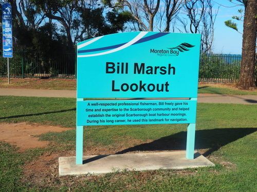 Bill Marsh Lookout, Scarborough, red cliffs,