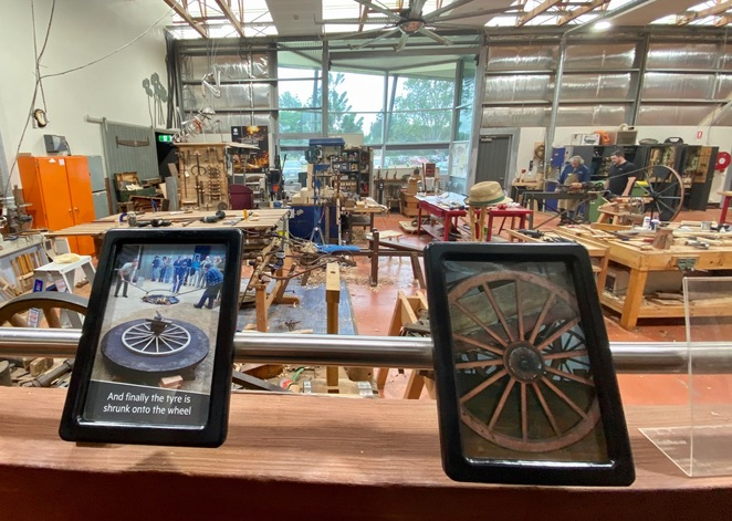 Workshop at the Cobb n Co Museum in Toowoomba