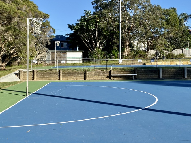 Netball courts and cricket nets are some of the additional facilities for active families at Bradbury Park