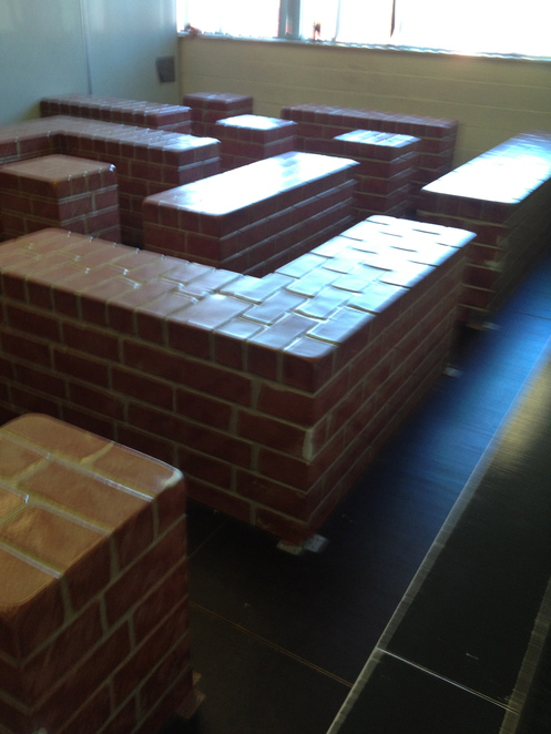 brick maze- harder than it looks