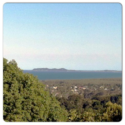 Cape Byron from Ocean Shores