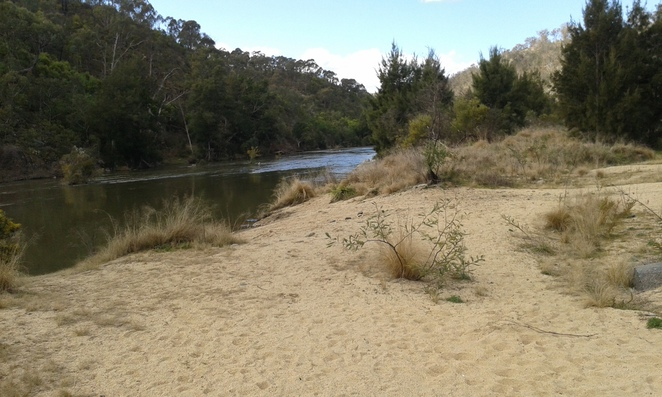 Casurina Sands Swimming area, Cotter rd, Canberra, swimming holes