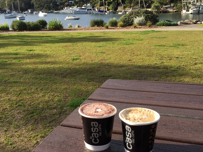 coffee, coffe van, cammeray, tunks park, northbridge, sports, boating, tea, muffin, brownie, toastie, outdoors, sports field, exercise
