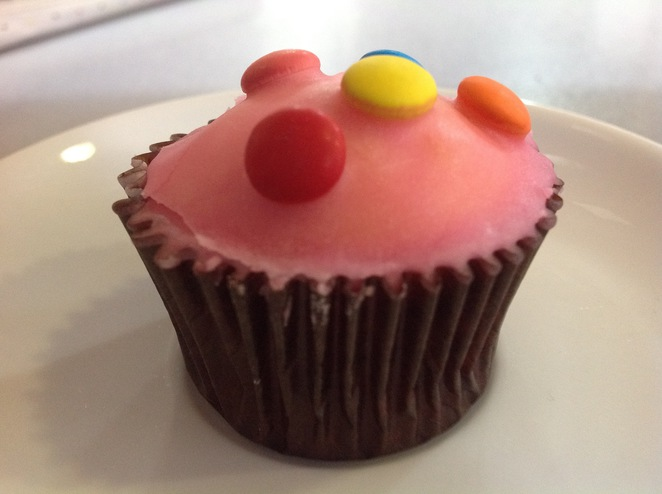 Colourful Cupcake from Cafe Koula Northcote