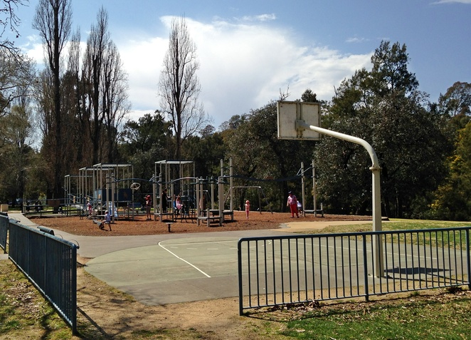 cotter reserve, canberra, ACT, basketball courts in canberra, best courts, murrumbidgee river, playground, walks, BBQ areas, best basketball areas in canberra, basketball hoops,