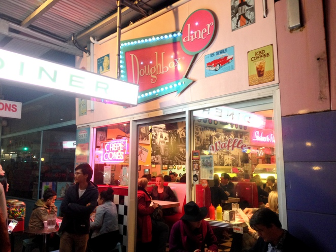 Doughbox Diner, Diner, Enmore Diner, Crepe Cones, Doughbox,