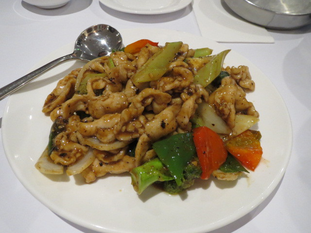 Dragon Court Seafood Restaurant, Chicken with Dried Black Bean, Adelaide