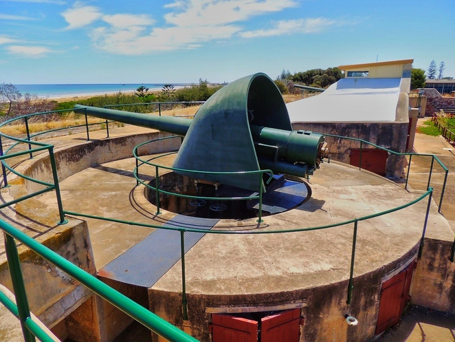 fort largs, fort glanville, coastal forts, australian army, south australian police, state heritage register, national trust, land for sale, fort largs police academy, artillery guns