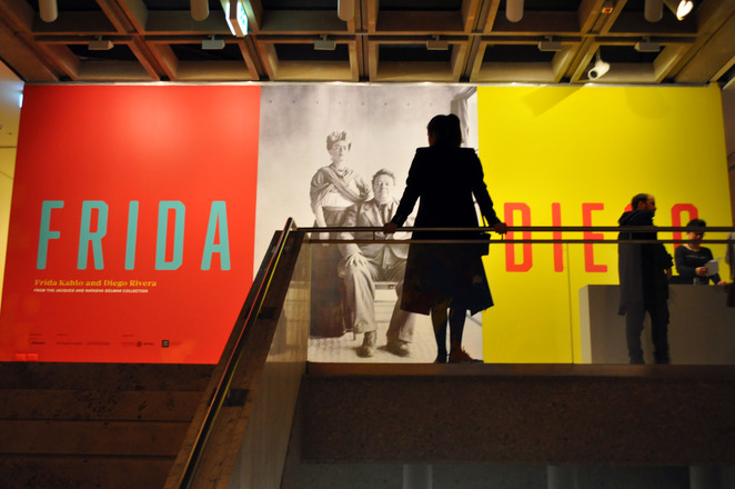 frida kahlo and diego rivera exhibiton, art gallery of nsw