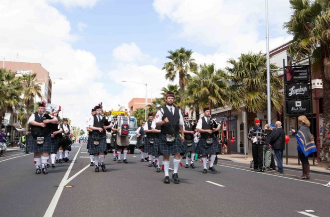 Scottish Band, Geelong Gala Day Parade