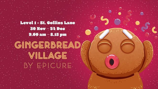 gingerbread village by epicure 2019, community event, fun things to do, exhibitions, family fun, st collins lane, miniatures, art, fundraiser, donation, royal childrens hospital, pastry chefs, pastires for sale, rch foundation