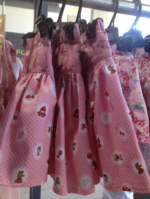 Gorgeous handmade skirts from local Brisbane boutique brand VintageBubbles