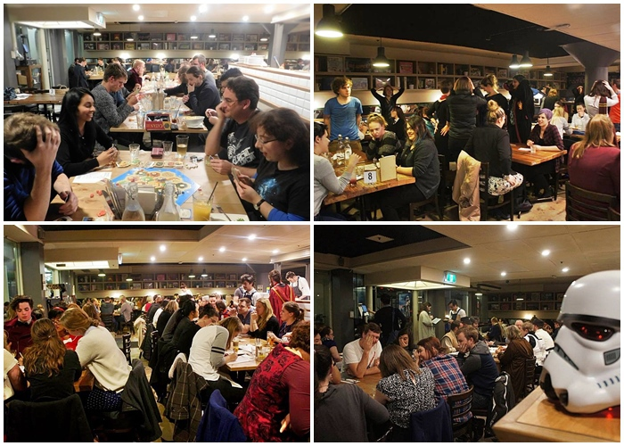Board Game Restaurant Canberra