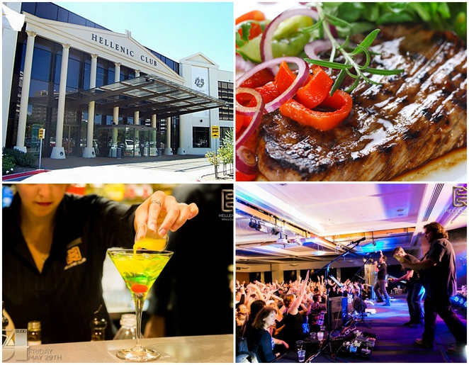 hellenic club, canberra, woden, ACT, biggest clubs, dinner, restuarants, ACT