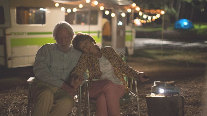leisure seeker, film review, brisbane , cinema, movies