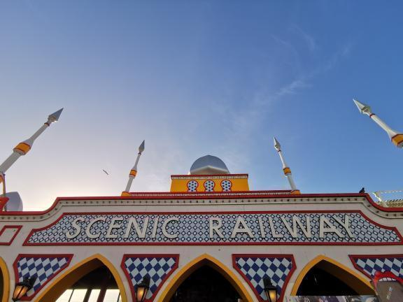 The Great Scenic Railyway at Luna Park