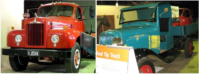 Mack Truck & Ford Tip Truck heritage