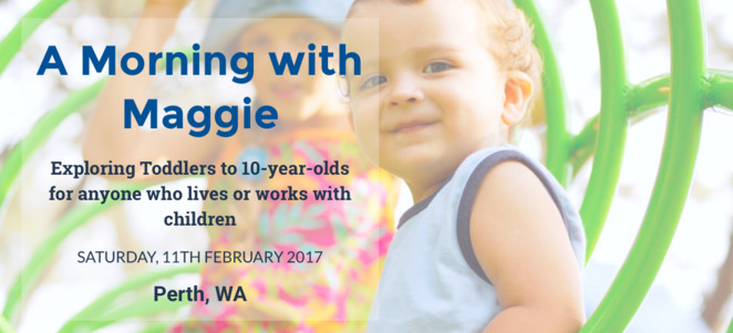 Maggie Dent, Maggie Dent Perth, parenting classes Perth, Childhood development, online childhood courses