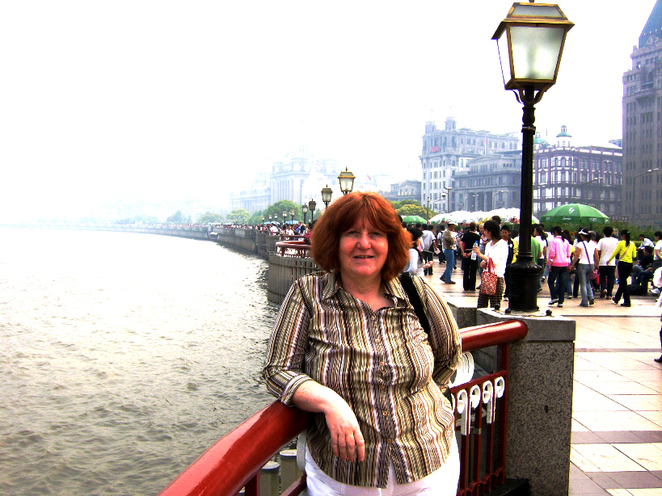 Margaret Along the Bund