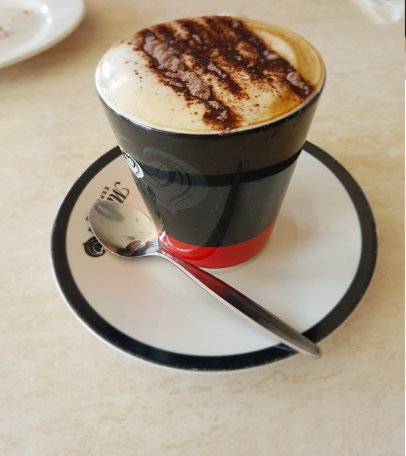 Michel's Patisserie, Gawler East, Coffee and cake