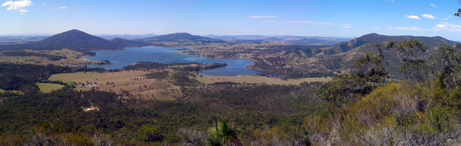 View from the Mt Greville Summit