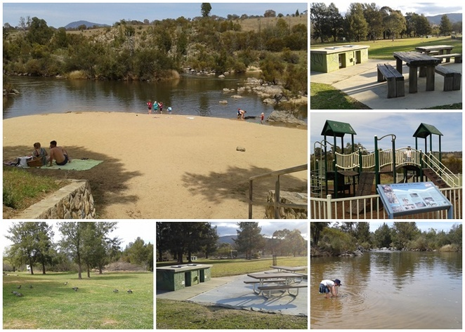 pine island, murrumbidgee river, swimming, ACT,BBQs, picnics, kayaking,
