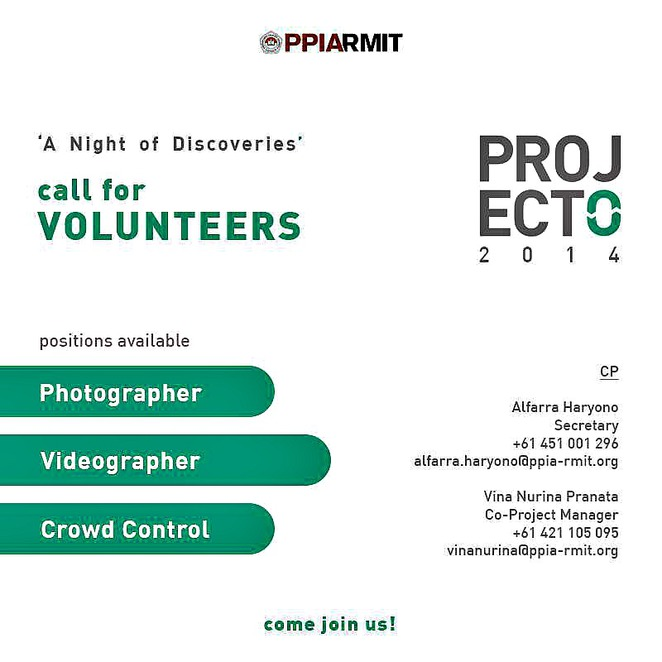 project o, project o 2014, a night of discoveries, storey hall, rmit university, indonesia, indonesian kids, better education, ycab, barry likumahuwa, veronica colondam, event, ppia, ppiarmit